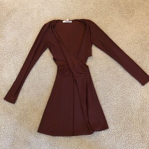 Forever 21 Long Sleeves Dress (Small)